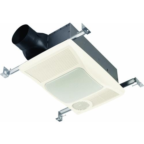 Broan-Nutone 100 CFM Incandescent Light/Directional Heater Bath Exhaust Fan