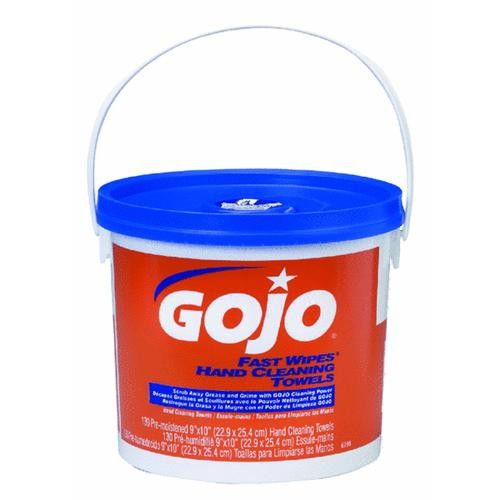 Bunzl USA GoJo Fast Wipes Hand Cleaner Wipe
