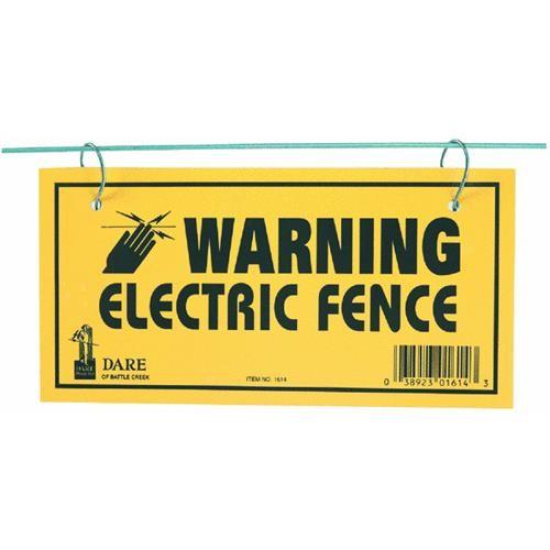 Dare Prod. Warning Sign