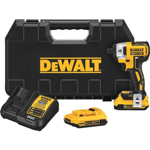 Dewalt DeWalt 20V MAX XR Brushless Lithium-Ion Cordless Impact Driver Kit