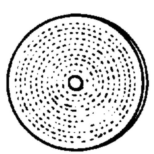Dico Prod. Corp. Spiral Sewed Buffing Wheel 1/4