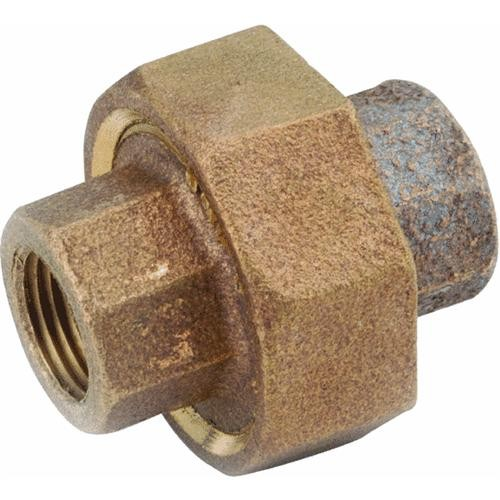 Anderson Metals Corp Inc Red Brass Threaded Union