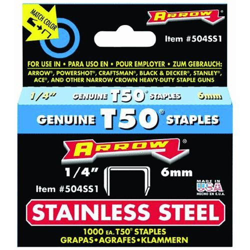 Arrow Fastener Stainless Steel Staple