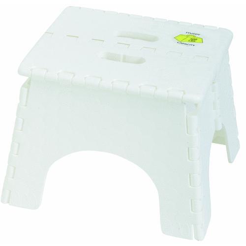 B & R Plastics E-Z Foldz Folding Step Stool