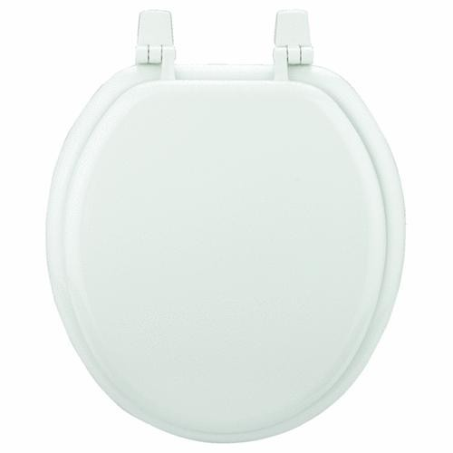 Bemis/Mayfair Round White Economy Wood Seat