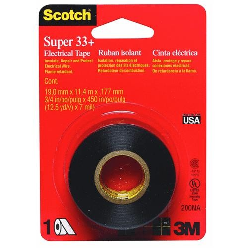 3M Scotch Vinyl Plastic Electrical Tape