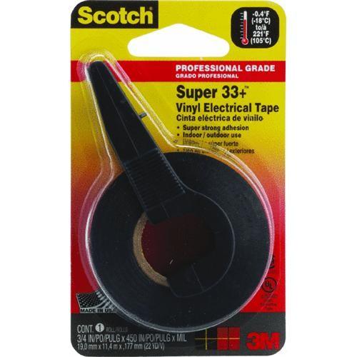 3M Scotch Vinyl Plastic Electrical Tape