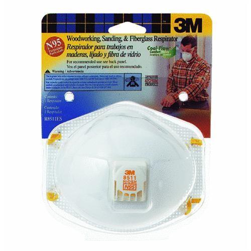 3M Woodworking, Sanding And Fiberglass Respirator