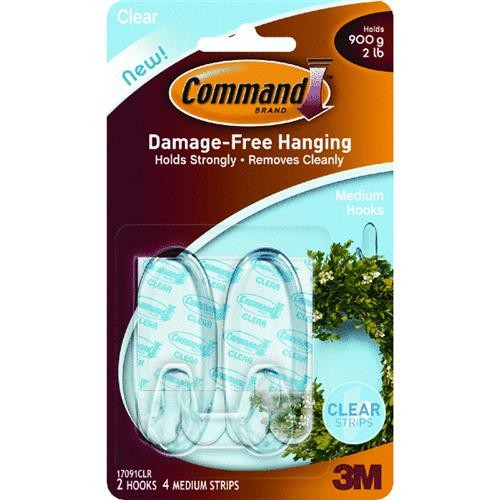 3M Command Clear Adhesive Hook
