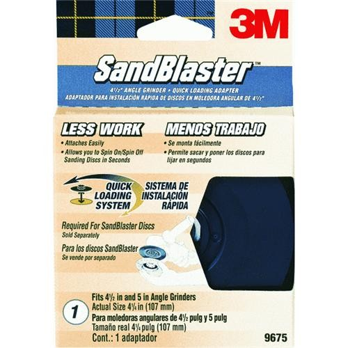 3M 3M Sandblaster Angle Grinder Backing Pad