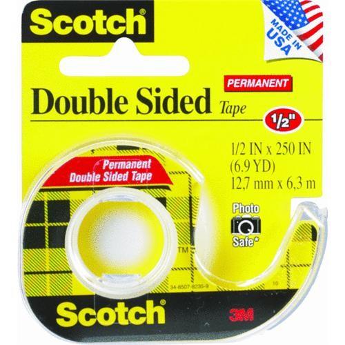 3M Scotch Double Stick Transparent Tape