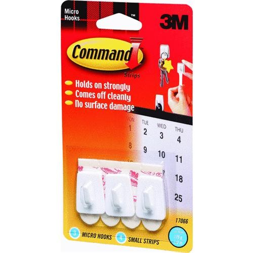 3M Command Micro Utility Adhesive Hook