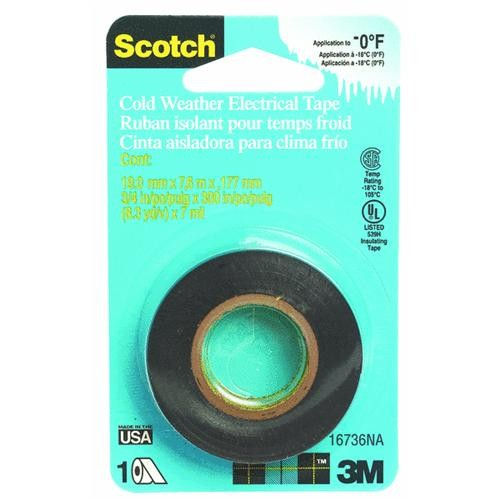 3M Scotch Cold Weather Electrical Tape
