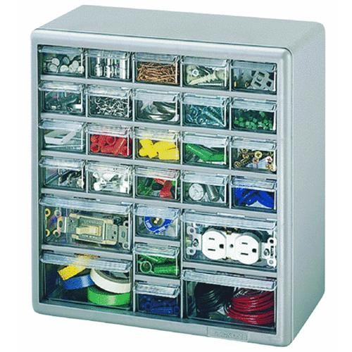 Akro Mils 26-Drawer Small Parts Cabinet