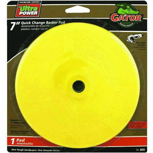 Ali Ind. Gator Quick Change Angle Grinder Backing Pad