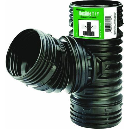 Amerimax Home Products Flex-Drain Flexible T/Y Combo