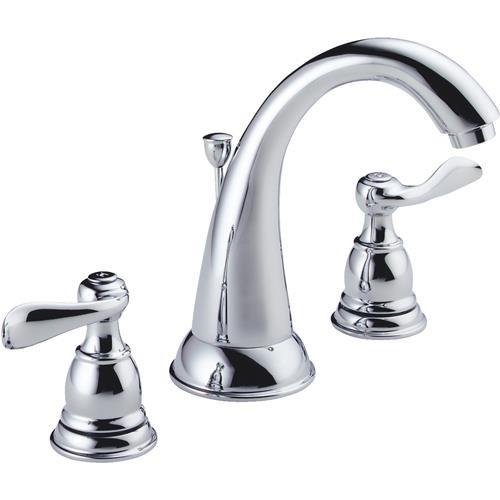 Delta Faucet Delta Windemere Widespread Lavatory Faucet