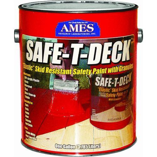 Ames Research Laboratories, Inc. Safe-T-Deck Elastomeric Waterproofing Sealer Deck Paint