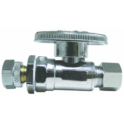 Watts Water Technologies Low Lead Quarter Turn Retro-Fit Straight Stop Ball Valve