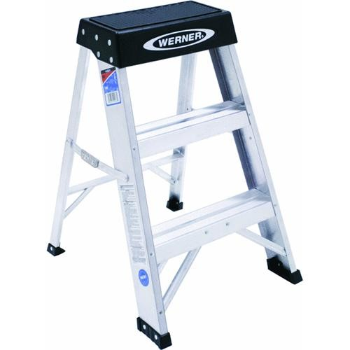 Werner Werner Type IA Aluminum Heavy-Duty Step Stool