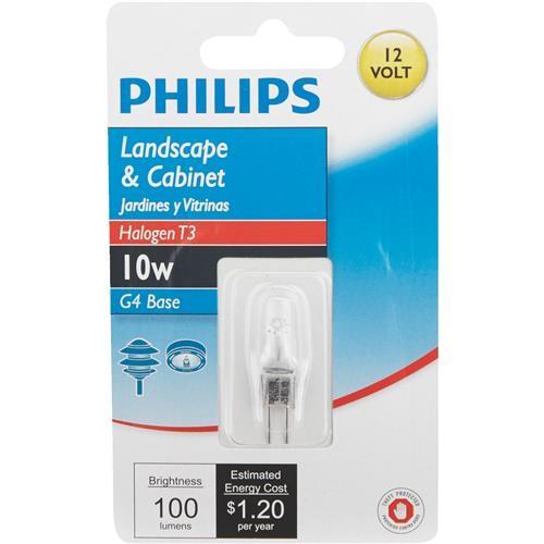Philips Lighting Co Philips T3 12V Halogen Special Purpose Light Bulb
