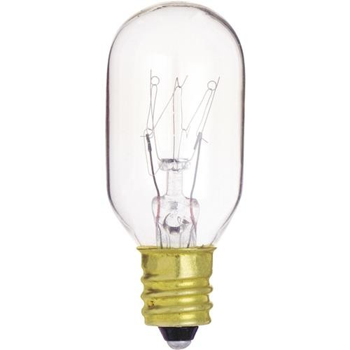 SATCO PRODUCTS, INC. Satco T7 Candelabra Base Incandescent Tubular Appliance Light Bulb