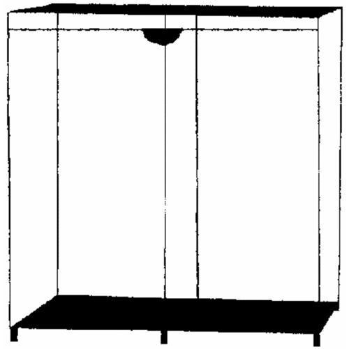 Whitmor Mfg. Extra-Wide Clothes Closet