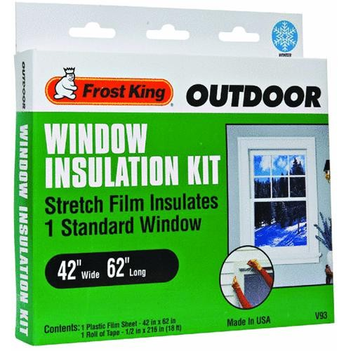 Thermwell Products Co. Frost King Window Outdoor Stretch Film Kit