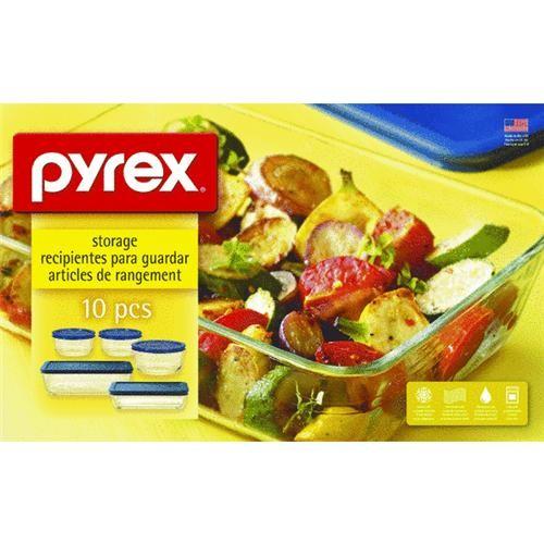 World Kitchen/Ekco Pyrex 10-Piece Storage Bakeware Set