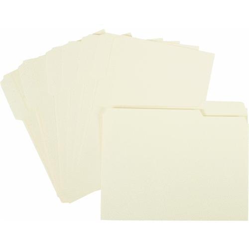 United Stationers Manila File Folder 1/3 Cut
