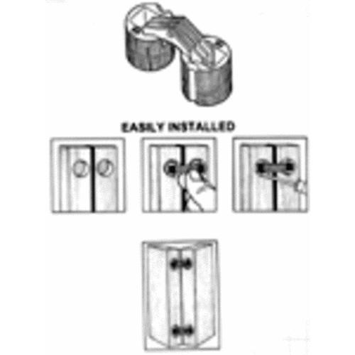 Universal Soss Invisible Barrel Hinge