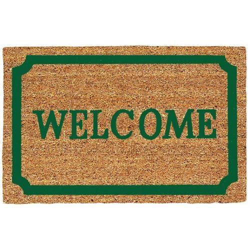 USCOA Int'l Decoir Brush Welcome Entrance Door Mat