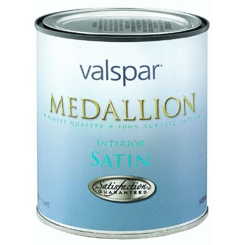 Valspar Medallion 100% Acrylic Interior Latex Satin Wall And Trim Paint