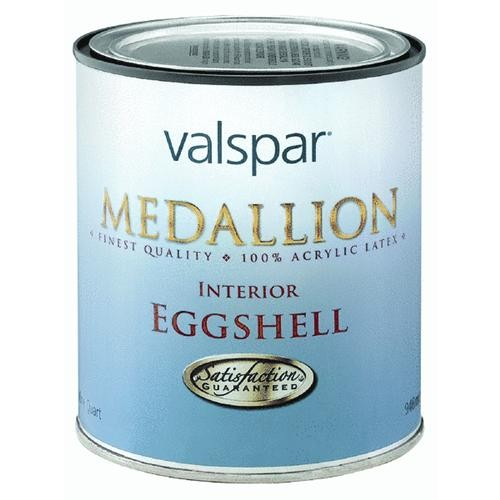 Valspar Medallion 100% Acrylic Latex Eggshell Trim and Interior Wall Paint