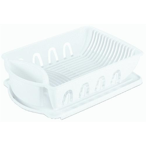 Sterilite Corp. 2-Piece Ultra Sink Dish Drainer Set