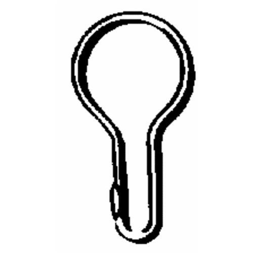 Zenith Prod. Plain Shower Hooks