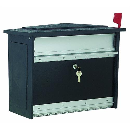 Solar Group Lockable Security Mailbox
