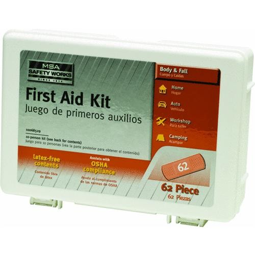 CERTIFIED SAFETY MFG Certified Safety 10-Person First Aid Kit
