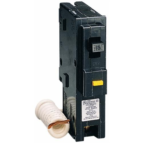 Square D Co. Square D Homeline Single Pole GFCI Breaker