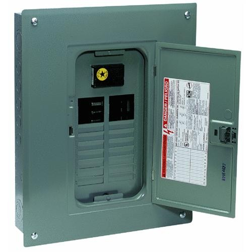 Square D Co. Square D QO Indoor Main Breaker Plug-on Neutral Load Center