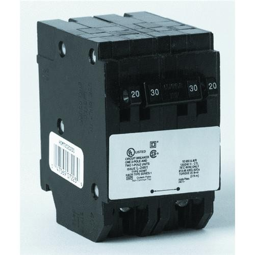 Square D Co. Square D Homeline Quad Tandem Circuit Breaker