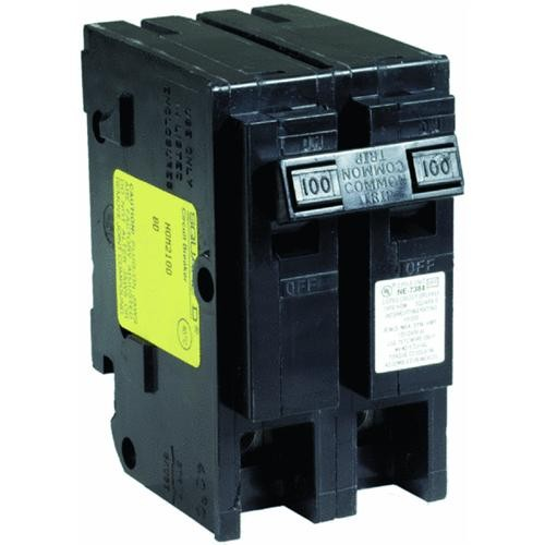 Square D Co. Square D Homeline Double Pole Main Breaker