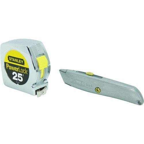 Stanley Stanley Tape Rule & Utility Knife Combo Kit