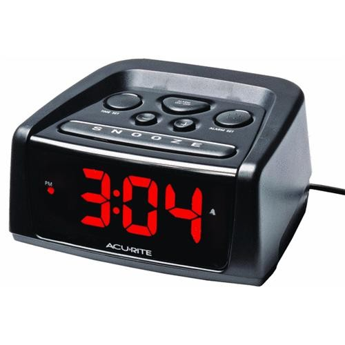 Chaney Instrument Acu-Rite Electric Alarm Clock