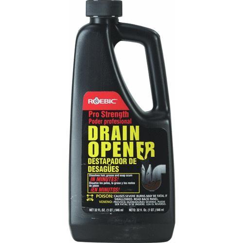Roebic Laboratories Professional Drain Opener Liquid Drain Cleaner