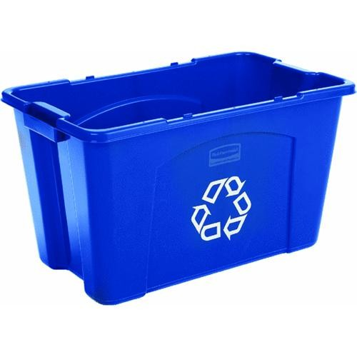 Rubbermaid Comm. Rubbermaid 18 Gallon Recycle Box