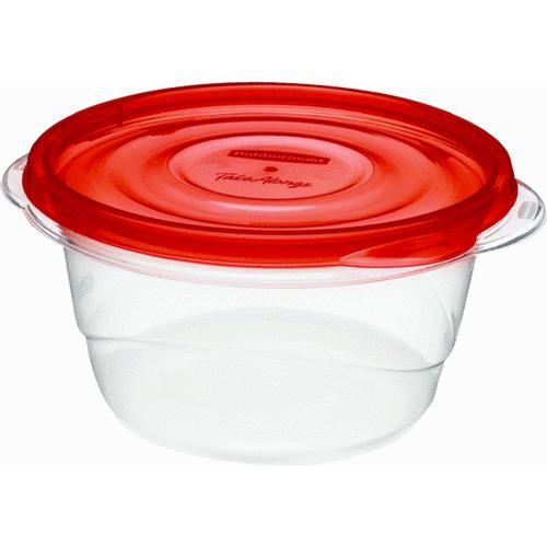 Rubbermaid Home 4-Piece Round Food Storage Container
