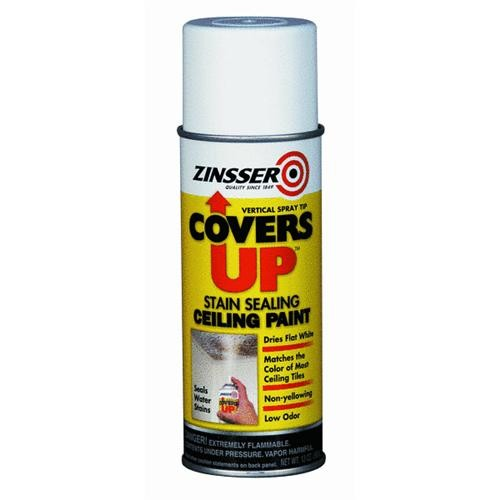 Rust Oleum Covers UP Stain Sealing Spray Ceiling Paint