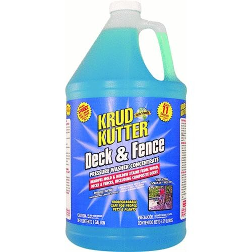 Rust Oleum Krud Kutter Deck And Fence Pressure Washer Concentrate