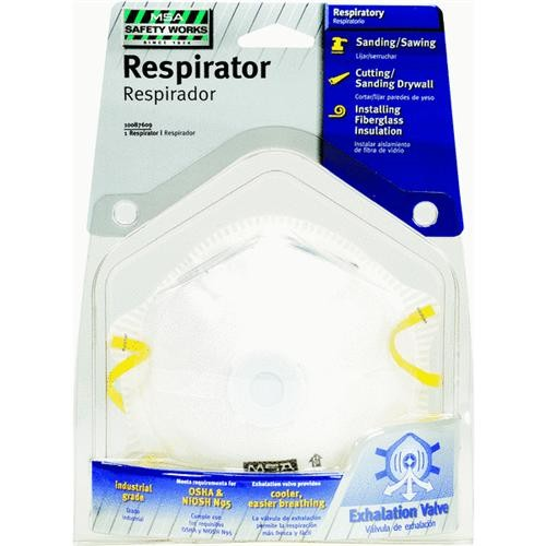 SAFETY WORKS INCOM N95 Respirator with Valve